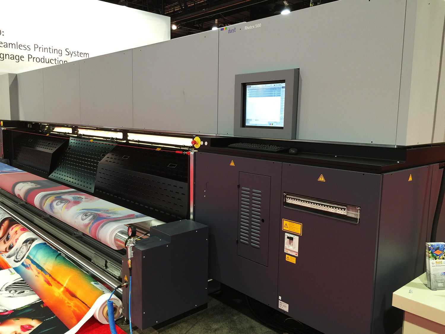 durst rhotex 500 dye sub printer