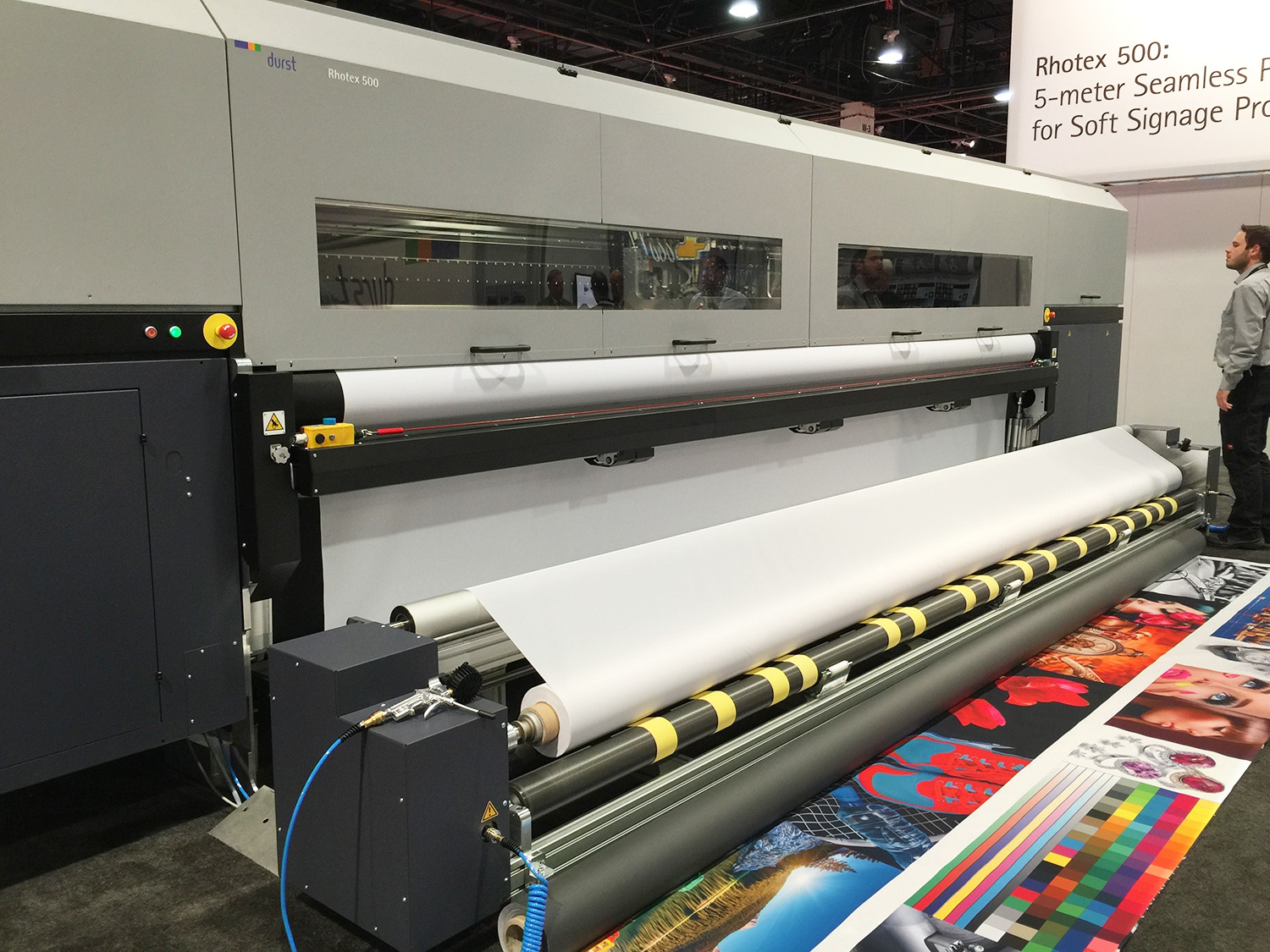 five meter digital textile printer