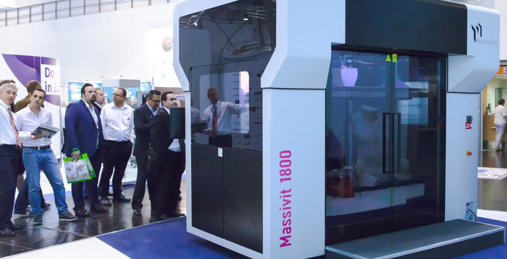 massivit large format 3d printer
