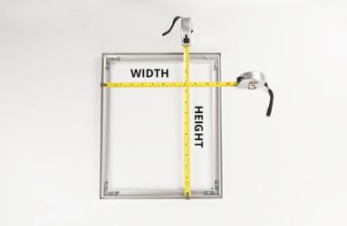 measuring width and height of SEG frame