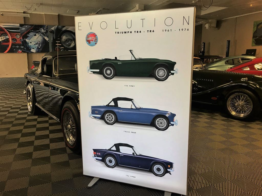 triumph-cars-fabric-museum-display