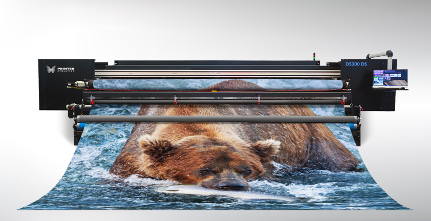 d5300 ds5 meter dye sub printer and calender