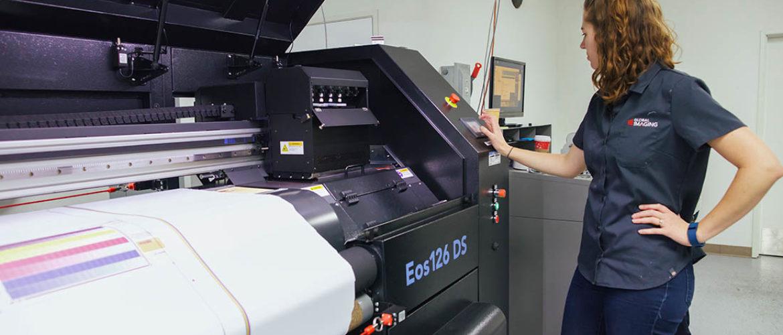 PrinterEvolution Eos126 all-in-one dye sub printer