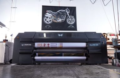 eos100 large format dye sub printer