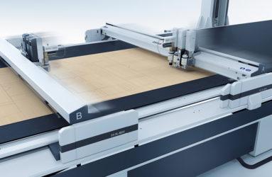 Die cut packaging on Zund D3 flatbed cutter