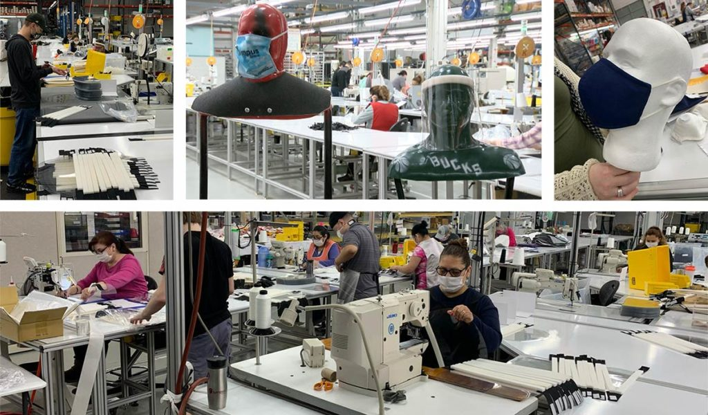 Olympus Group shifts their production line to produce PPE during COVID-19 pandemic
